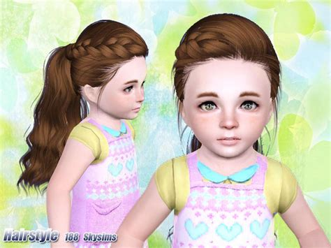 tsr kids hair skysims hair 188