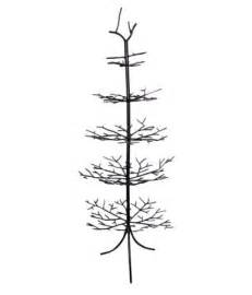 wrought iron christmas ornament display tree branches