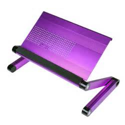 Laptop Tray Desk Furinno Adjustable Vented Laptop Table Desk Portable Bed Tray Book Stand Purple Ebay