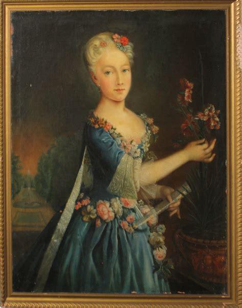 china doll on antoine antoine pesne prussian 1683 1757 oc portrait of