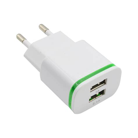 Charger Motor Hk 3 Port5 Conector 7 In 1 Usb Casan K Murah 1 2 dual usb ports wall power charger adapters eu for samsung galaxy s6 edge note 4 iphone 4s