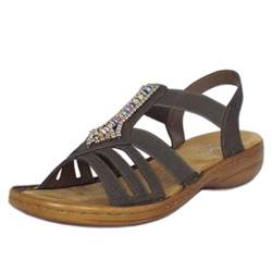 sandals comfortable stylish rieker s comfortable sandals in grey mozimo