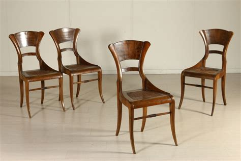 sedie biedermeier grupa czterech krzese蛯 biedermeier sofy fotele krzes蛯a