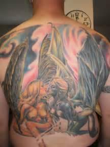 Good Vs Evil Tattoos Pictures Tattoos Ideas » Ideas Home Design