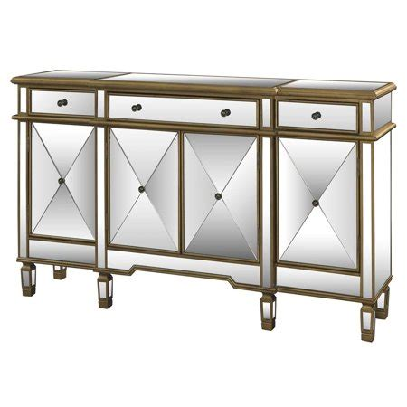 console table with doors mirrored console table with 3 drawers and 4 doors
