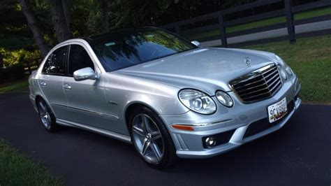 2007 Mercedes E63 by No Reserve 2007 Mercedes E63 Amg Sedan For Sale On