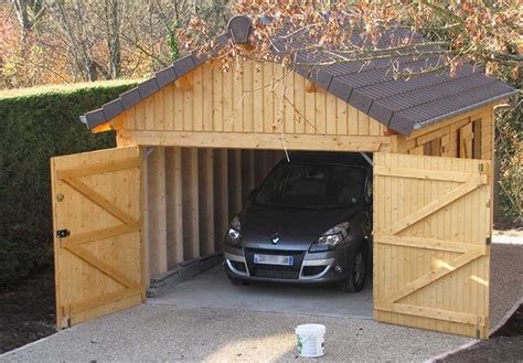 Construire Un Garage En Bois 2191 by Combien Co 251 Te Un Garage En Bois