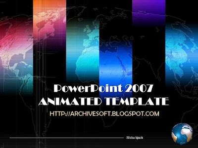 Free Animated Backgrounds For Powerpoint 2007 Animated Powerpoint Templates Free 2007