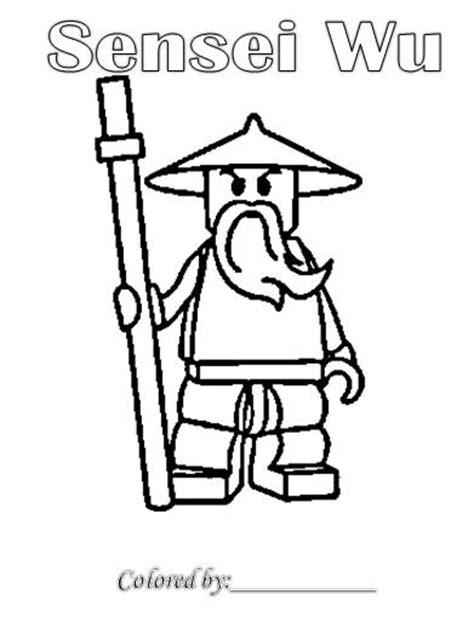 lego ninjago sensei wu coloring pages sensei wu ninjago coloring pages free coloring pages