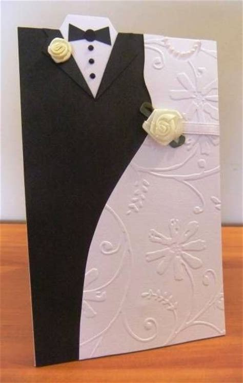 how to make wedding invitation card creative wedding day and groom dress up greeting cards