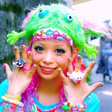 Mascara Harajuku kurebayashi decora hair makeup awesome and
