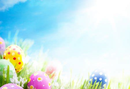 easter eggs photography abstract background wallpapers