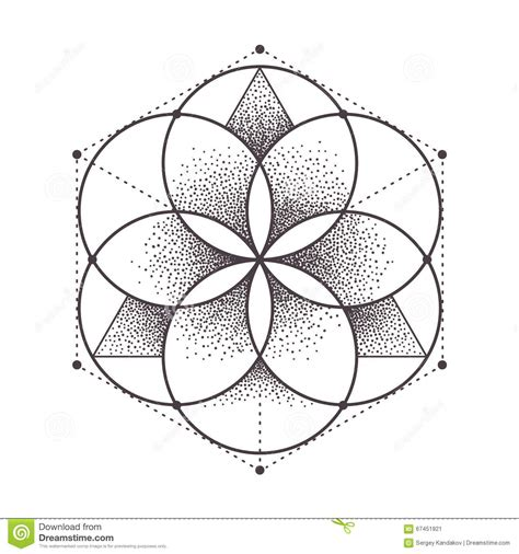 sacred geometry stock vector image of vector esoteric
