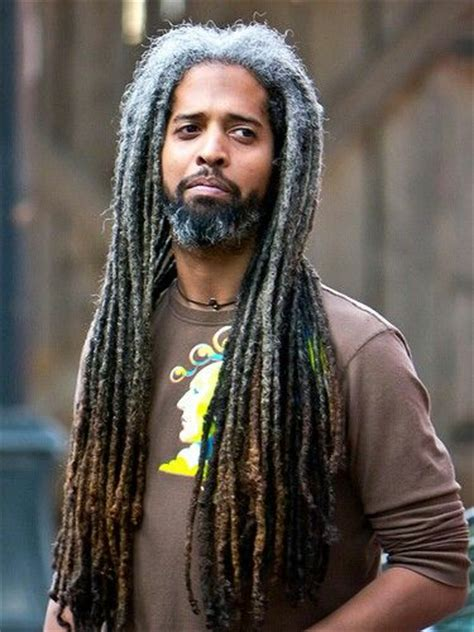 dreadlocks with gray hair salt and pepper locs salt and pepper locs pinterest
