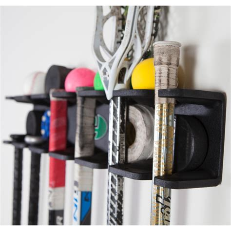 Sports Storage Rack by Lacrosse Stick Multi Sport Storage Rack By Evolution