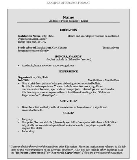 write  resume pomona college  claremont