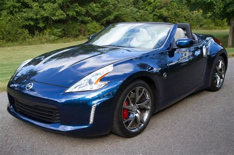 blue nissan 370z used 2016 nissan 370z convertible pricing for sale edmunds