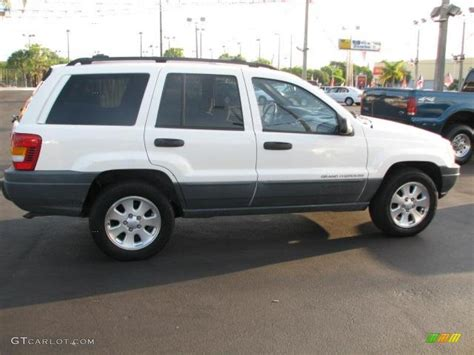 jeep grand cherokee laredo white stone white 2000 jeep grand cherokee laredo exterior photo