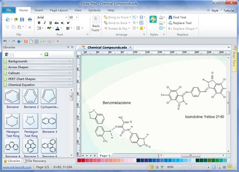 free scientific drawing software chemistry equation drawing software