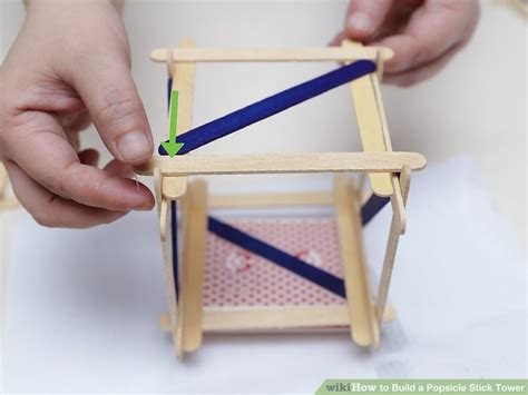 How To Make A Paper Bridge Without Glue - how to build a popsicle stick tower 14 steps with pictures