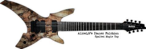 Kaos Ibanez Guitar will create guitar mockups for food sevenstring org