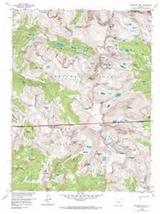 usgs maps colorado isolation peak topographic map co usgs topo 40105b6