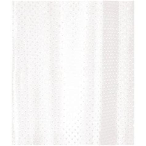 White Textured Shower Curtain by Euroshowers White Textured Shower Curtain