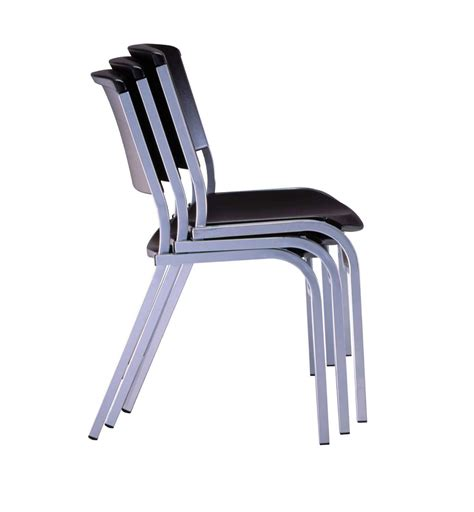 Lifetime Stacking Chairs by Lifetime Stacking Chairs 42830 Black Stackable Chairs 4 Pack