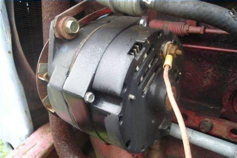 wire  alternator   tractor   runs