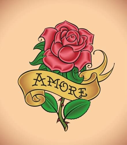 rose tattoos with ribbon 40 scroll ribbon designs and images