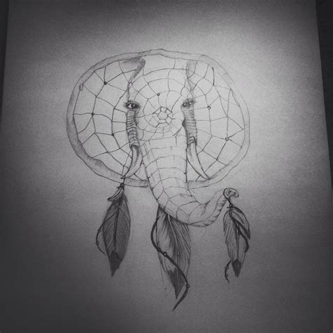 elephant tattoo with dream catcher michelle byrne michelle byrne instagram profile mulpix
