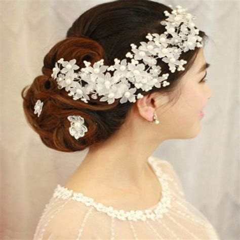 hair jewelry for a wedding aliexpress com buy 2017 new arrival hairwear pearl