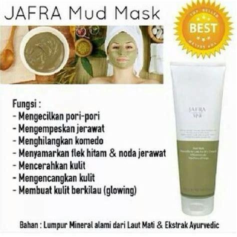 Masker Jafra Lumpur jafra mud mask dapatkan wajah putih dan bersinar alami