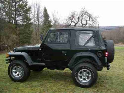 2000 Jeep Lifted Purchase Used 2000 Jeep Wrangler Lifted With 33 S Six