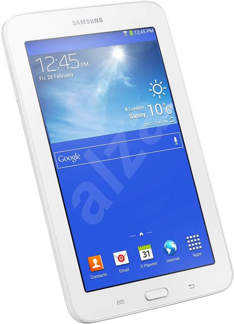 Samsung Galaxy Tab 3 Lite Wifi 8gb samsung galaxy tab 3 7 0 lite wifi white 8gb sm t110 tablet alzashop