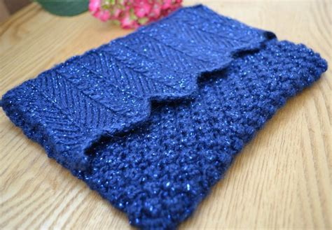 knitted clutch bag blueberry clutch bag by ginx craft craftsy