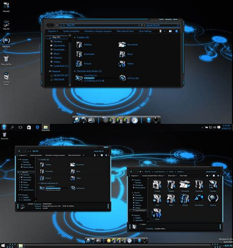 themes windows 10 skin windows10 themes i cleodesktop skinpacks