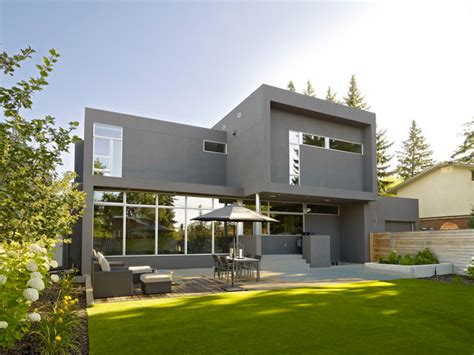 home design gallery inc sd house modern exterior edmonton by thirdstone
