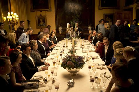 downton dinner dinner for eight at the real downton highclere