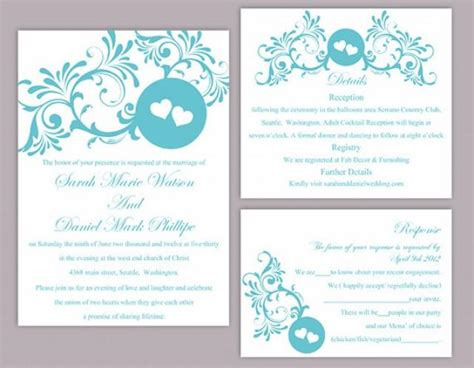 4over Templates Business Card 2 5x3 5 by Diy Wedding Invitation Template Set Editable Word File