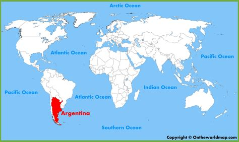 where is argentina on the world map world map argentina timekeeperwatches
