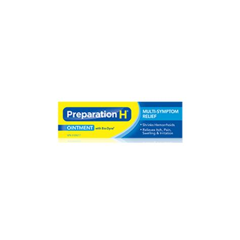 buy preparation h ointment with bio dyne for multi symptom