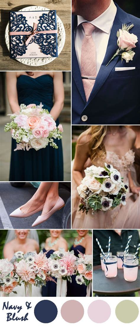 navy blue wedding color schemes 25 best ideas about wedding colors on