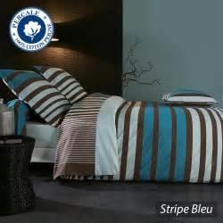 Housse De Couette Contemporaine #1: housse-de-couette-percale-240x220-stripe-bleu-18241.jpg