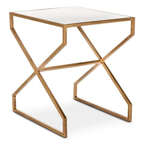 Accent Table Target by Nate Berkus Brass Metal Accent Table Target