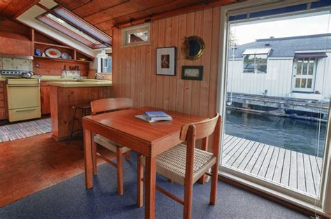 390 square feet a 390 square feet floating home in seattle washington