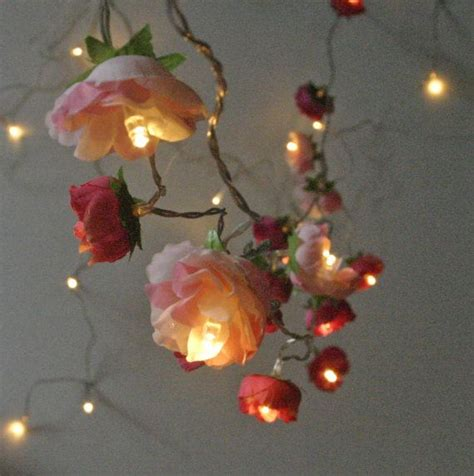 Flower String Lights For Bedroom Best 25 And Pink Ideas On Pinterest Background Pink Image And And Pink Roses
