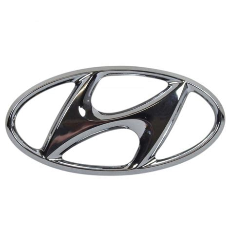 Emblem Hyundai Getz Logo Hyundai chrome badge emblem fits hyundai i30 cw hatch express ebay