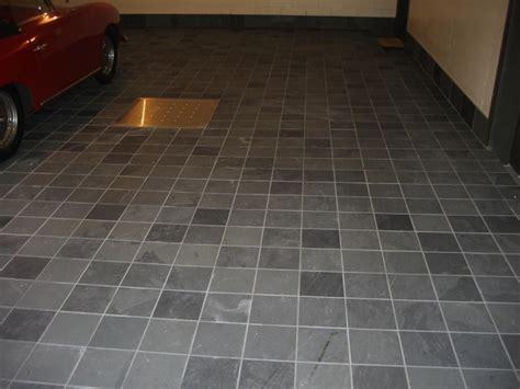 Modern Slate Flooring by Slate On Garage Floor Modern Montreal By Eurocerob