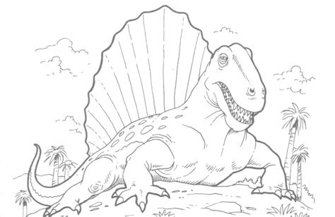 Realistic Dinosaur Coloring Pages   Dinosaurs Pictures and